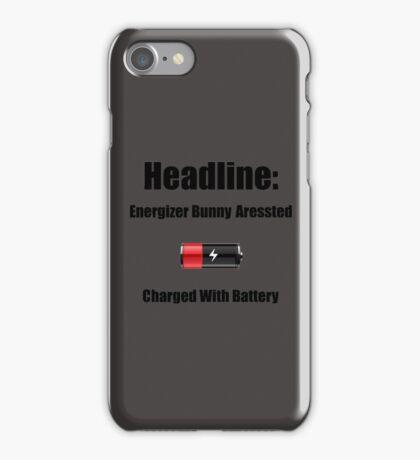 Dad Joke - Energizer Bunny Aressted iPhone Case/Skin