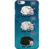 Bored Sheep iPhone Case/Skin