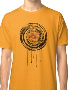 Vinyl Records Retro Urban Grunge Design Classic T-Shirt