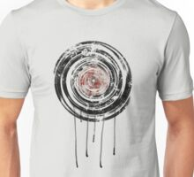 Vinyl Records Retro Urban Grunge Design Unisex T-Shirt