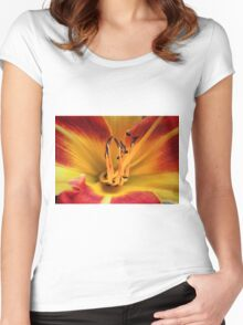 Beauty And The Beasties... Women's Fitted Scoop T-Shirt
