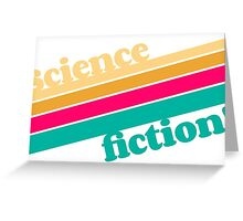 Science Fiction Rocks! Greeting Card