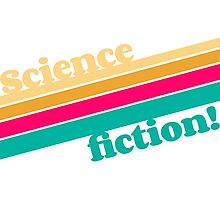 Science Fiction Rocks! Photographic Print