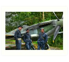 Royal Air Force revisited Art Print