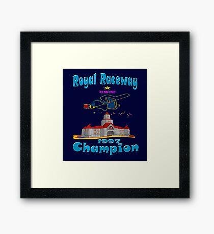 Royal Raceway 1997 Champion mario kart 64 Framed Print