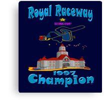 Royal Raceway 1997 Champion mario kart 64 Canvas Print