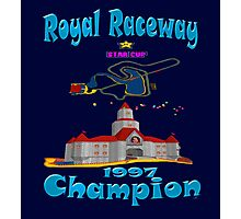 Royal Raceway 1997 Champion mario kart 64 Photographic Print