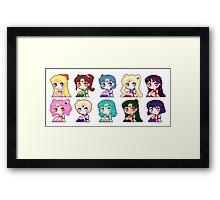 Pixel Scouts Framed Print