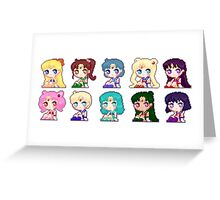 Pixel Scouts Greeting Card