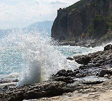 Nafplio Wave by CaitlinDPhoto