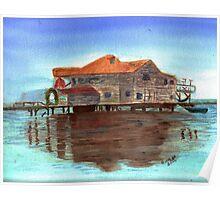 West End  Isla de Roatan Poster