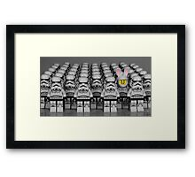 The Empire is not a zoo (#2) Framed Print