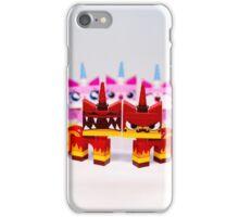 Angry kitties iPhone Case/Skin