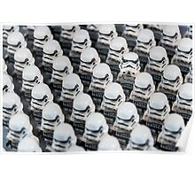 Stormtrooper army Poster