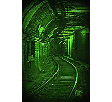 Tunnel Vision. Photographic Print