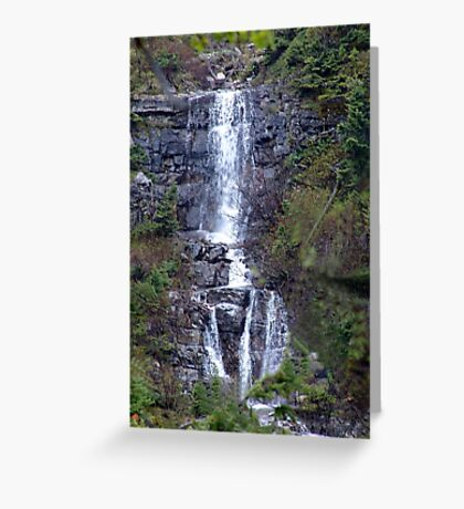 Delicate Waterfall Greeting Card