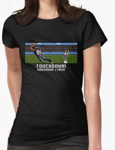 Tecmo Bowl Touchdown Marshawn Lynch Womens Fitted T-Shirt