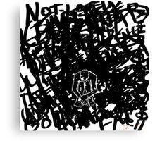 Depression Canvas Print