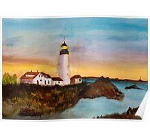 North Truro Lighthouse, Cape Cod Poster