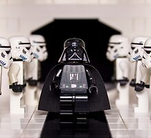 Darth Vader & Stormtroopers by Ballou34