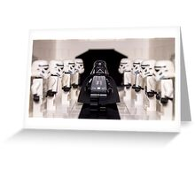 Darth Vader & Stormtroopers Greeting Card