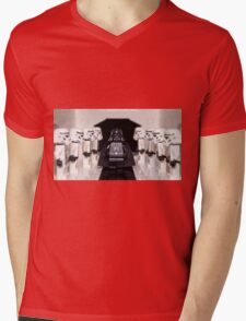 Darth Vader & Stormtroopers Mens V-Neck T-Shirt
