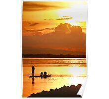 Visayan Sunset Poster