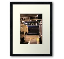 Tim and his Passat Framed Print