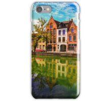 Bruges in reflection iPhone Case/Skin