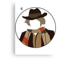 Doctor Who - Tom Baker Cutout Canvas Print