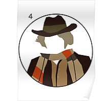 Doctor Who - Tom Baker Cutout Poster