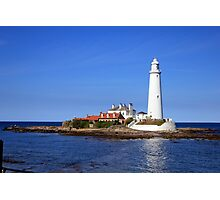 St. Mary's Lighthouse, Whitley Bay Photographic Print