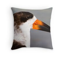 Portrait of a Skimmer Throw Pillow