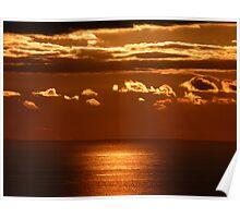 Glorious Cornish Dawn Poster