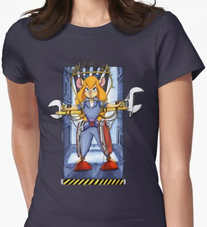 Gadget Ripley Womens Fitted T-Shirt