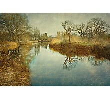 The Exeter Ship Canal Photographic Print