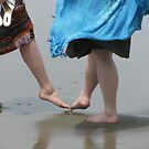 Beach Tootsies by Sarah Trent