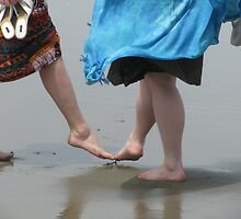 Beach Tootsies by Sarah Trent