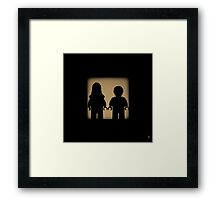 Shadow - Chewie, we're home Framed Print