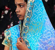 Blue India by lamiel