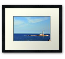 St. Mary's Lighthouse, Whitley Bay Framed Print