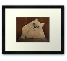 what do you mean no more snacks Framed Print