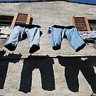 Italian Laundry by Deborah Downes