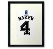 MY Doctor is Tom Baker Framed Print