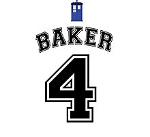 MY Doctor is Tom Baker Photographic Print