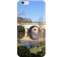 A view by the river iPhone Case/Skin