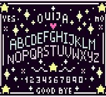 Pixel Ouija Board by Samantha Lusher