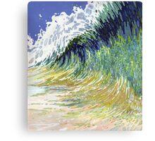 Huge Ocean Reflecting Wave Margaret Juul Canvas Print