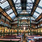 Roof of Kirkgate Market ~ Leeds ~ by Sandra Cockayne