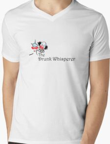 The Drunk Whisperer Mens V-Neck T-Shirt